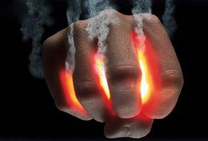 Smoking fist