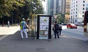 إعلانات لجنة الدعوة الإلكترونية تعم محطات البرازيل
