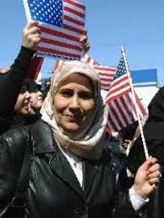 مسلمة بأمريكا