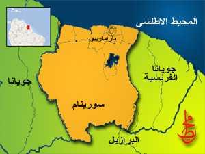 خريطة جويانا