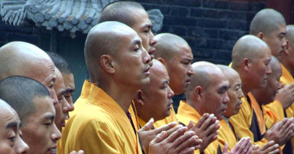 Theravada Buddhism is oldest of the three main Buddhist paths (or ways), and for that reason some might say it is the closet we will get to the actual teachings of the historical Buddha. The word Theravada is pronounced in English as 'terra vodda'.
