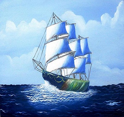 ship in sea kailash Role of Merchants in Spreading Islam