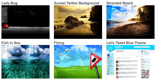 Backgrounds available at TwitBacks
