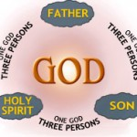 The Christian doctrine of the Trinity states that God is the union of three divine persons; the Father, the Son and the Holy Spirit, in one divine being.