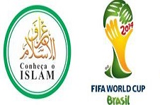 During the world football tournament and to millions of visitors from all over the world Islam will be present by Brazilian Muslims.
