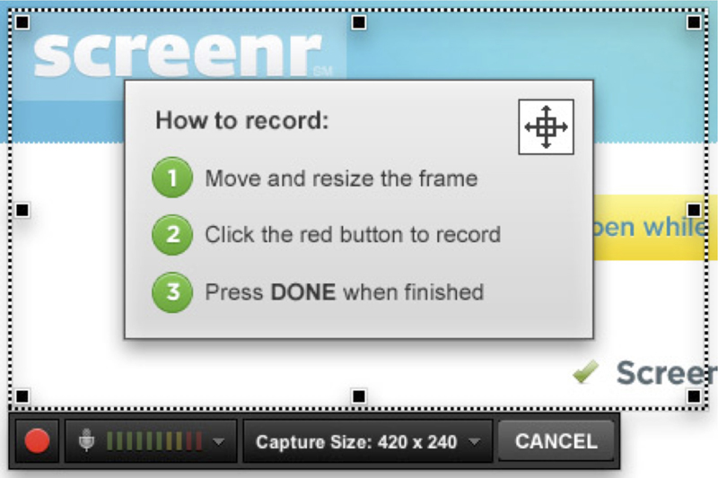 Could I record a video from screen online? Yes, it's possible and pretty easy, using an online service called 'Screenr'. Here're the steps…