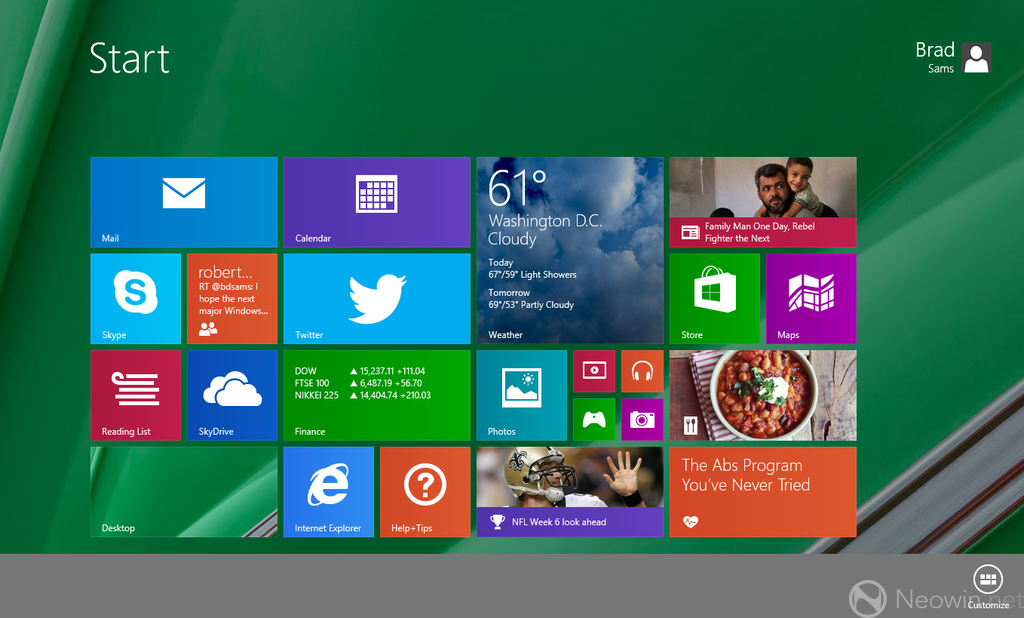 "Do you want to customize your start screen in Windows 8 and make it feel like home? Here's how… Step 1: Go to your start screen. Let's start with basics: customizing background. Click on your ""Settings"" charm and pick ""Personalize"". Step 2: Here, by picking a different tattoo, background color and accent color you can […]"