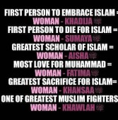 Women Before and After Islam: Factual Record