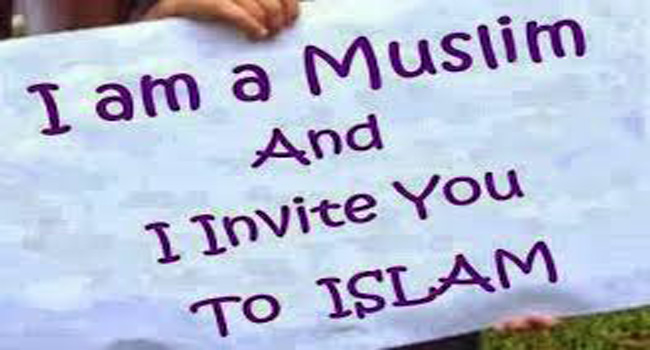 inviting people to Islam