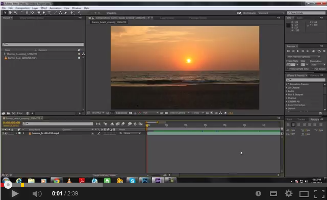 In this tutorial we will guide you on how to Remove Object from Video using Adobe After effects. For this tutorial, we will be working on this free stock footage over here. You can download this video from the following link: • http://vimeo.com/groups/freehd/videos… From this beach shot, we will be removing the sun from the […]