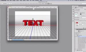 Create 3D Text on Adobe Photoshop
