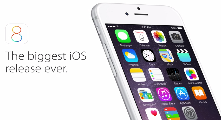 How to install the iOS 8 update from Apple on an iPhone or iPad wirelessly. The iOS update is available for iPhone 4s and above and iPad 2 and above.