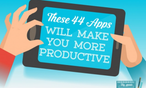 Be More Productive with These Apps