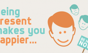 Being Present Makes You Happier…Learn How! (Infographic)