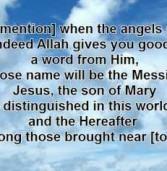 Jesus: The Islamic View