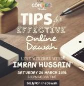 Online Da`wah Webinar: Don't Miss