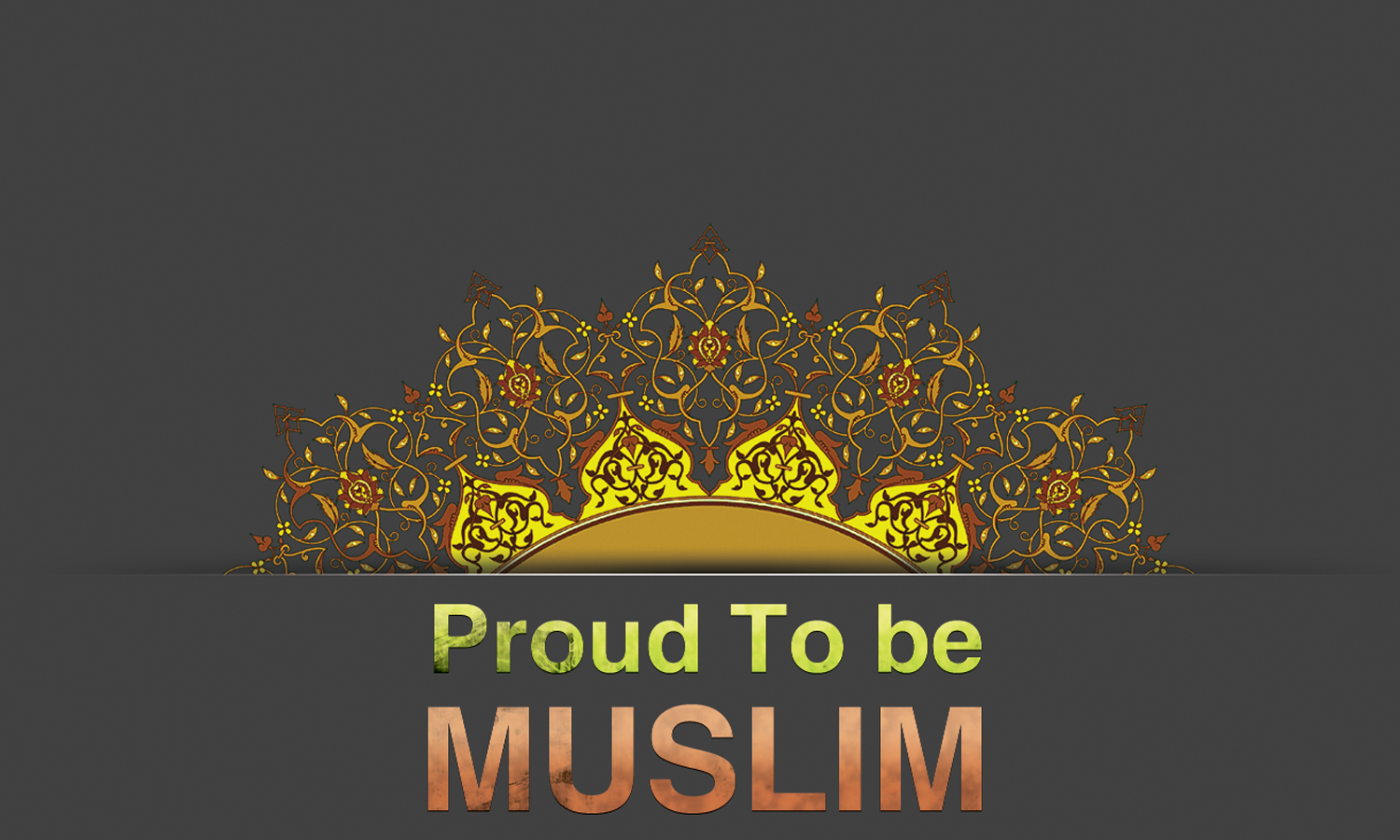 proud to be muslim