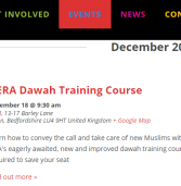 iERA Da`wah Training Course: Convey the Call & Take Care of New Muslims