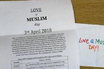 """""""Love a Muslim Day"""": Muslims' Response to Hatred and Racism"""