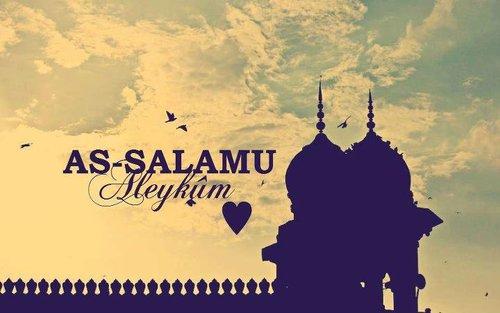 Islamic greeting