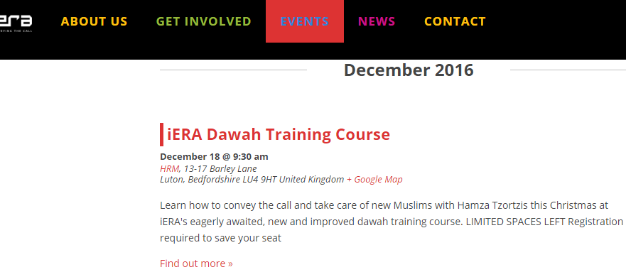 iera training course