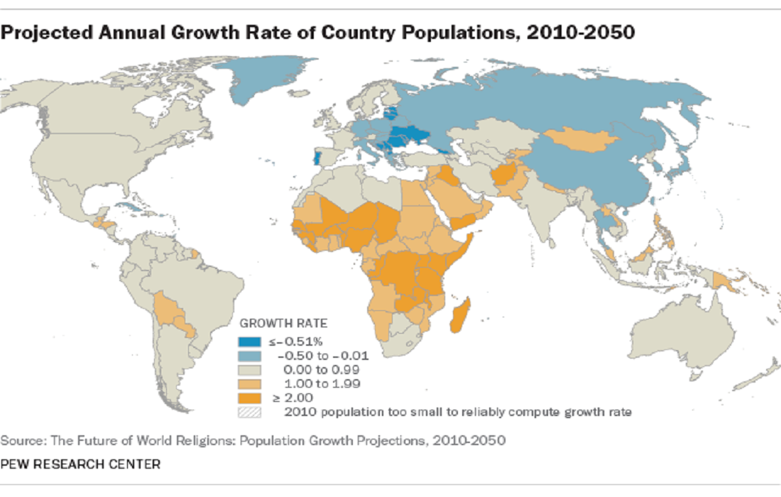 Islam Is the World's Fastest Growing Religion